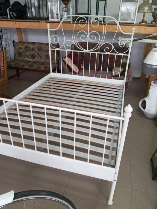 Металеве ліжко + ламелі Виноградов - изображение 1
