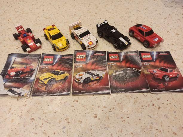 Samochodziki LEGO z napędem