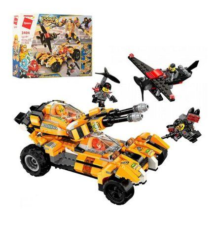 Конструктор детский Qman транспорт, робот, фигурки
