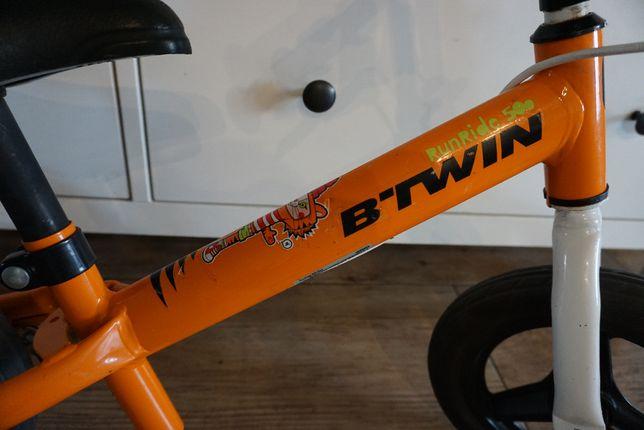 Rowerek biegowy btwin Run ride 500 z hamulcem