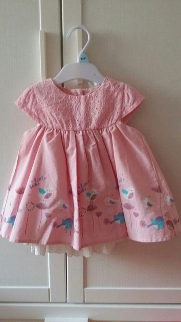 Nowa śliczna sukienka rozmiar 74