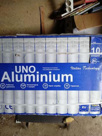 Батареи Uno Aluminium