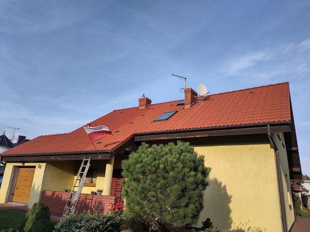 Renowacja dachu, mycie, impregnacja, malowanie