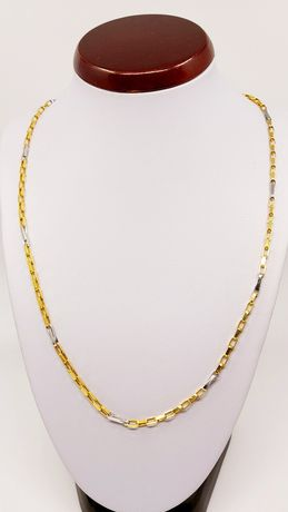 Promocja Złoty łańcuszek próba 585 waga 7.79 gr Długość 55 cm