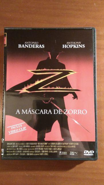 """DVD """"A mascara de zorro"""""""