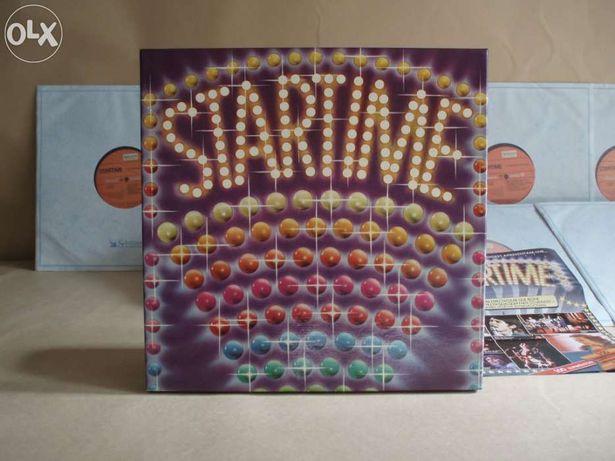 """Coleção de 8 discos vinil LP - """" Startime"""" - Como novos"""