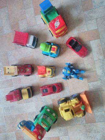 Игрушки, машинки пакетом