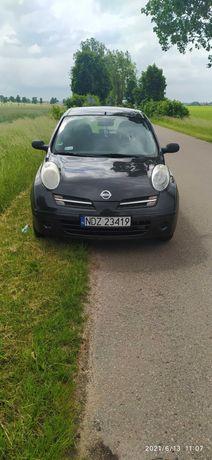 Nissan Micra uszkodzony silnik