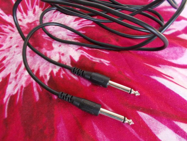 Kabel gitara elektryczna duży jack