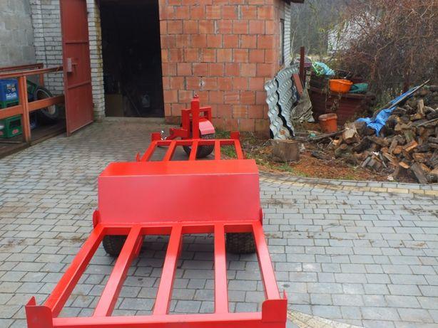 Wózki sadownicze wózek platforma laweta sadownicza ogród