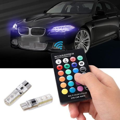 Led Multicolor Remote Control Car