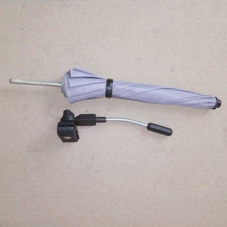 Parasol parasolka do wózka, szary, nieużywany