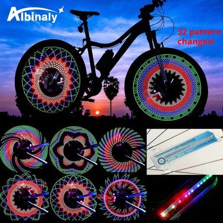 Вело колеса діодна пісвітка