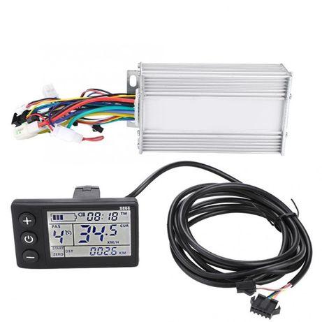 Контроллер электровелосипеда с дисплеем S866 350W 24V 36V 48V. Pass