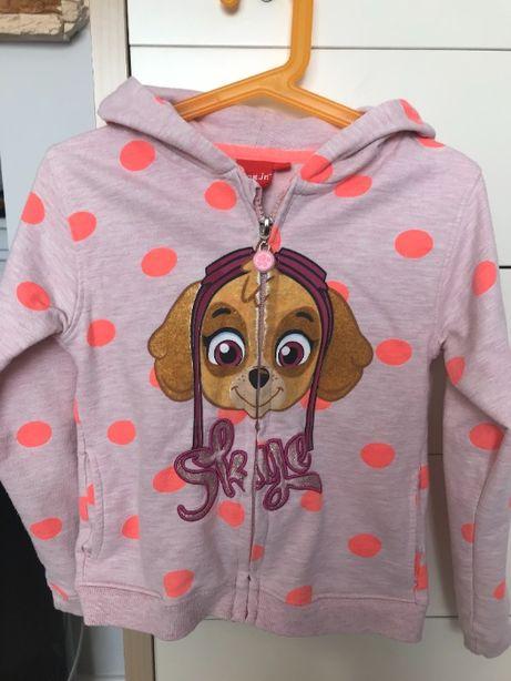 super bluza dla dziewczynki 3 sztuki rozmiar 116