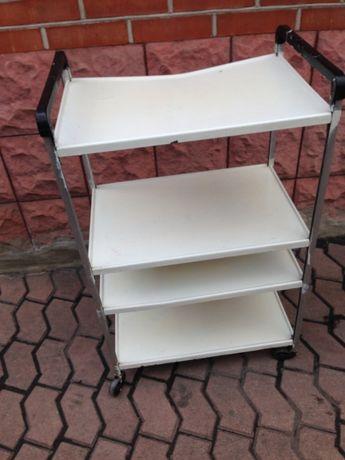 столик-этажерка на колесиках