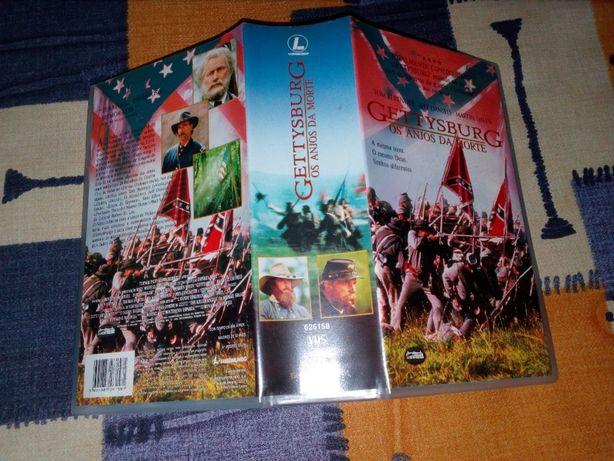 Gettysburg Os anjos da morte em VHS