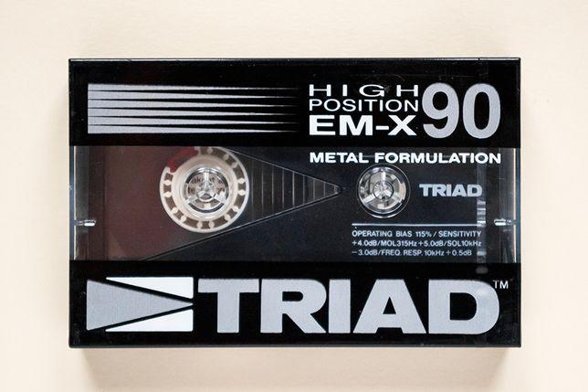 TRIAD EM-X 90 kaseta magnetofonowa