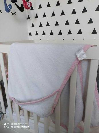 Ręcznik Cuddledry fartuch kąpielowy dla niemowląt okrycie ko