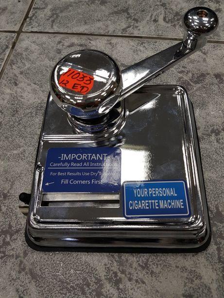 Maszynka nabijarka do papierosów tytoniu gilz OCB DUO tytoń WARSZAWA