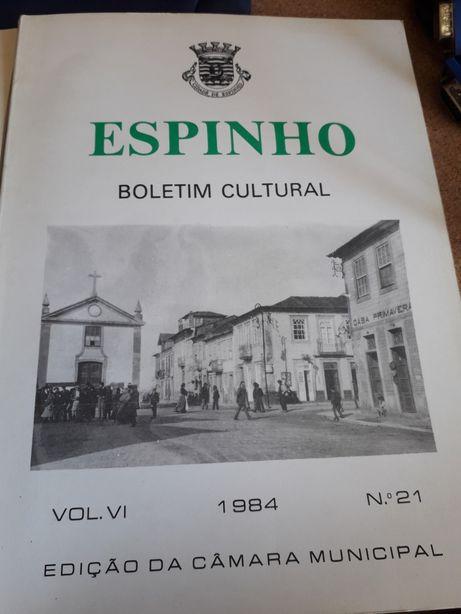 3 Livros - Boletim Cultural Espinho