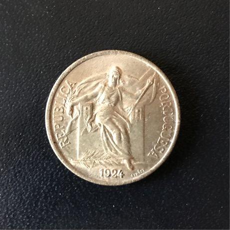 Moeda 1 Escudo de 1924
