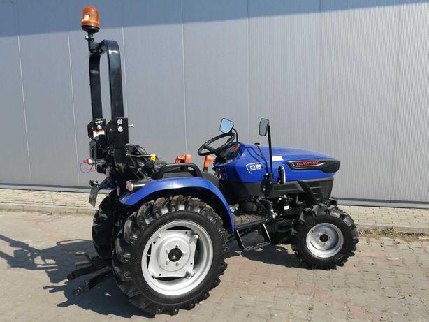 Farmtrac mini traktorek 26KM 4x4 ciągnik ogrodowy komunalny kredyt