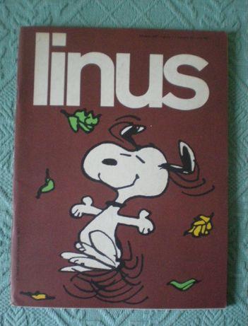 Linus - revistas em italiano + Charlie - revistas em francês - antiga