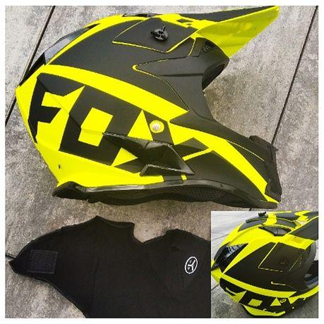Kask szczękowy FOX VI M fullface GRATIS  enduro MTB rowerowe offroad