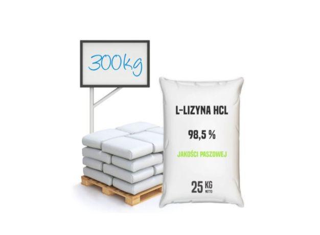 L-Lizyna HCl 98,5 % paszowa półpaleta 300 kg