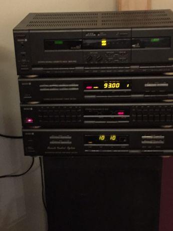 Wieża diora 502+ magnetofon MDS502
