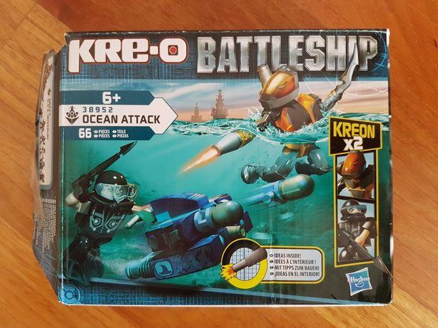 Construção tipo lego Kre-o Battleship