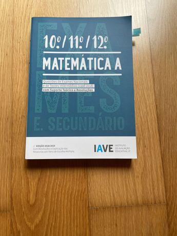 Livro de IAVE matemática 2018