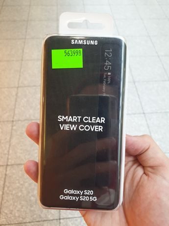 Smart Clear View Cover Galaxy S20 5g Etui Case