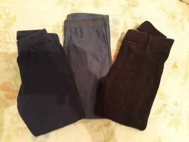 Leggins e calças de fato de treino para menina