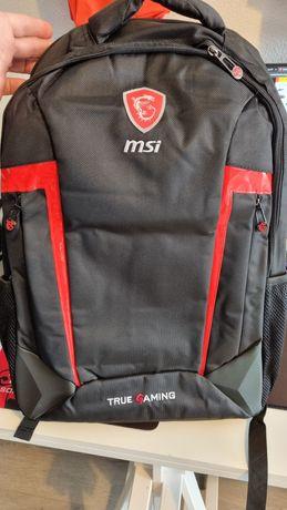 Rato tapete e mochila MSI gaming
