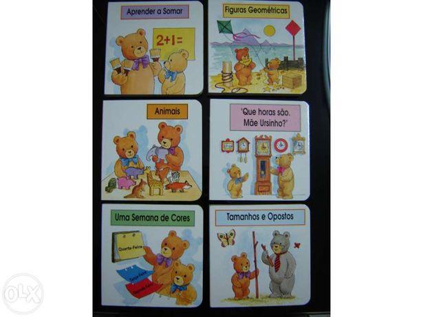 Livros infantis de ursinhos