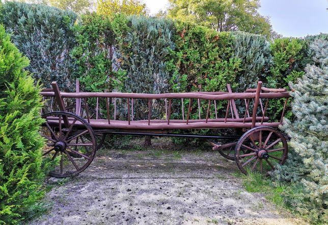 Sprzedam wóz drabiniasty drewniany dł. 4 m