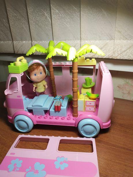 Лего автомобиль Даша путешественница