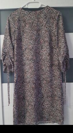 Rozm. 34/XS H&M Sukienka rękaw 3/4
