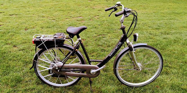 Rower Saxonette z silnikiem spalinowym Sachsa E-Start Super Stan