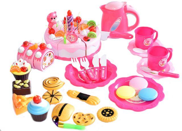 Zestaw przyjęcie urodzinowe piknik RÓŻOWY