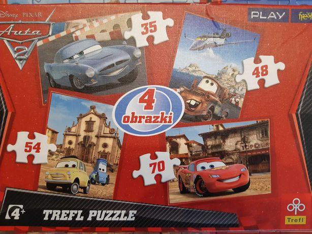 Puzzle Trefl Auta