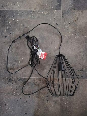 TK lighting czarny kinkiet, lampka do kontaktu, loft nowoczesny modern