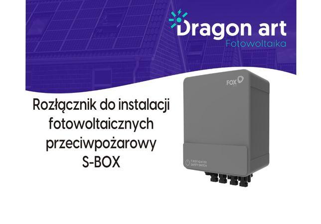Wyłącznik rozłącznik ppoż przeciwpożarowy S-BOX FOX do instalacji PV