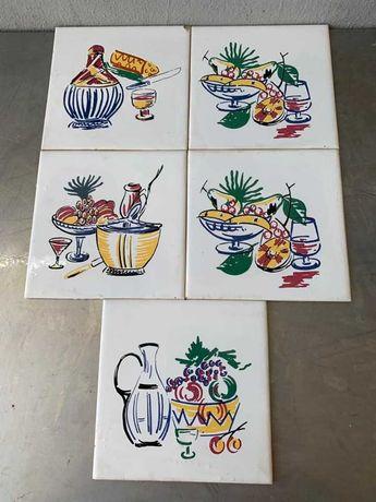 Azulejos antigos decorativos para cozinha