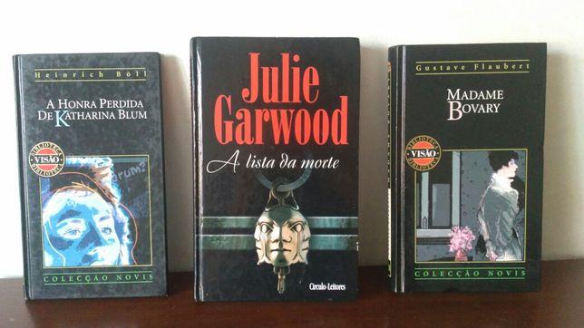 3 Livros - Honra Perdida Katharina Blum / Lista Morte / Madame Bovary
