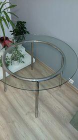 Stół Szklany Okrągły