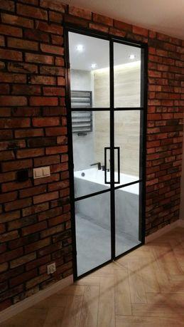 Ścianki, zabudowy loft, industrialne, ogrodzenia, barierki