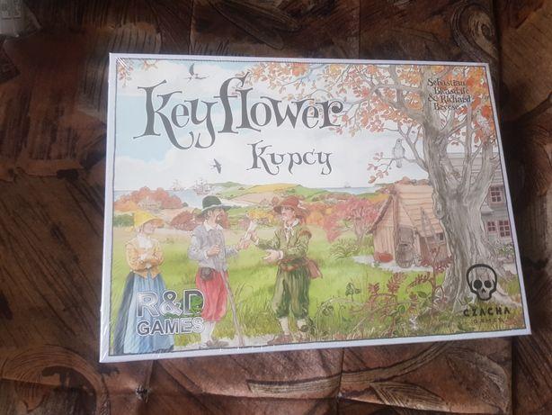 Gra Keyflower + 2 nowe dodatki: Kupcy i Farmerzy